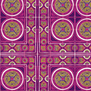 Purple&Pink Tiles