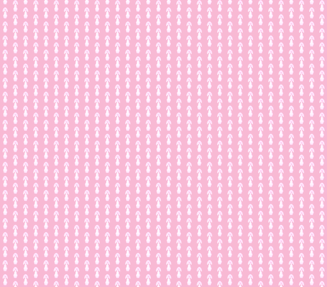 Oscar Dog pink small half-drop fabric by miss_blümchen on Spoonflower - custom fabric