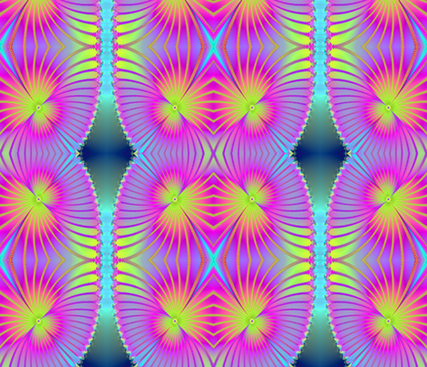 morning glory fabric by krs_expressions on Spoonflower - custom fabric