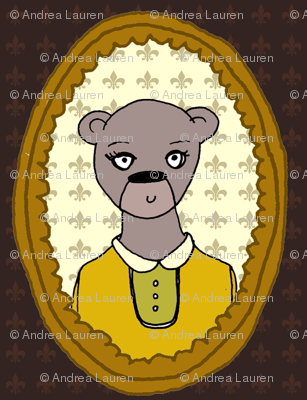 Woodland Frame - Bear