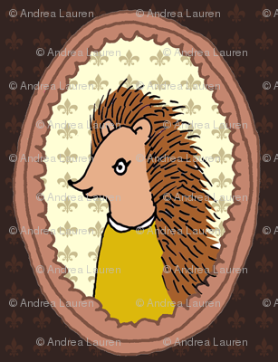Woodland Frame - Hedgehog