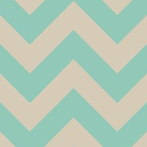 zigzag turquoise