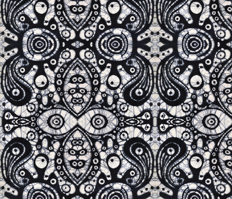 Karen fabric by hooeybatiks on Spoonflower - custom fabric