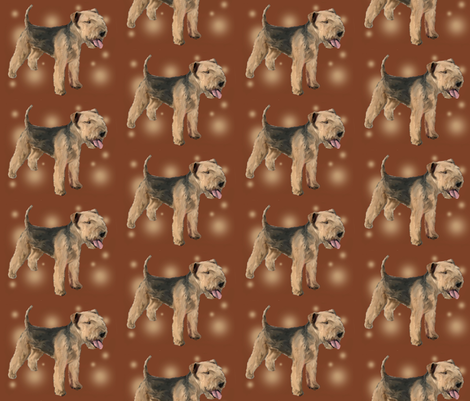 Lakeland_Terrier fabric by dogdaze_ on Spoonflower - custom fabric