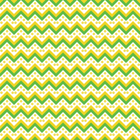 Chevron Lemonade fabric by mainsail_studio on Spoonflower - custom fabric