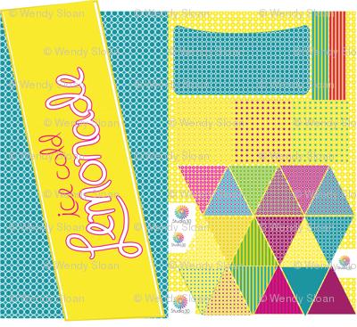 Lemonade Stand Cut & Sew