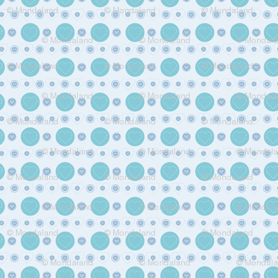 dotty hearts (blue)