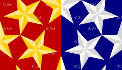 U53 V1 bevelled stars