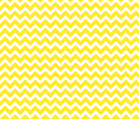 Yellow Chevron fabric by sweetzoeshop on Spoonflower - custom fabric