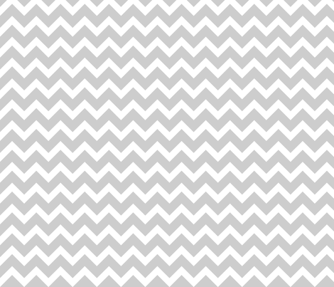 Gray Chevron fabric by sweetzoeshop on Spoonflower - custom fabric