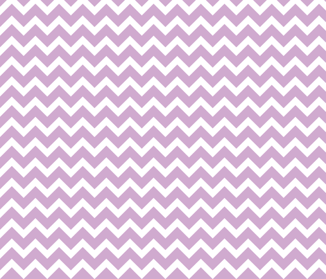 Lilac Chevron fabric by sweetzoeshop on Spoonflower - custom fabric