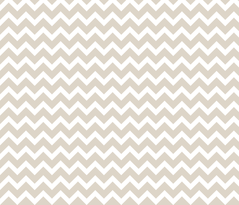 Linen Beige Chevron fabric by sweetzoeshop on Spoonflower - custom fabric