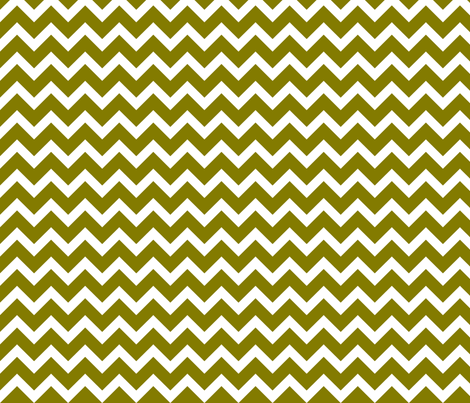 Olive Green Chevron fabric by sweetzoeshop on Spoonflower - custom fabric