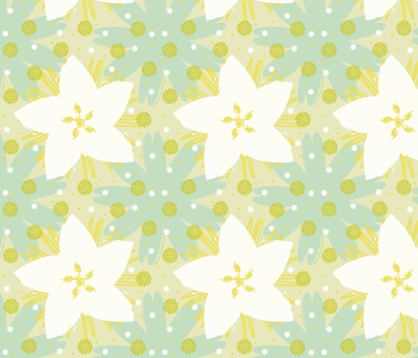 Blue Susan fabric by brainsarepretty on Spoonflower - custom fabric