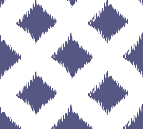Ikat fabric by megankaydesign on Spoonflower - custom fabric
