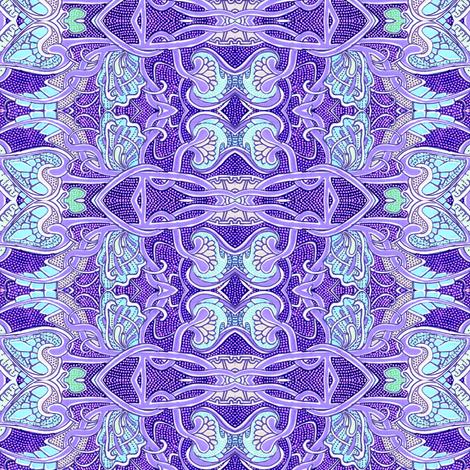 Pseudo Celtic Tangled Tango fabric by edsel2084 on Spoonflower - custom fabric