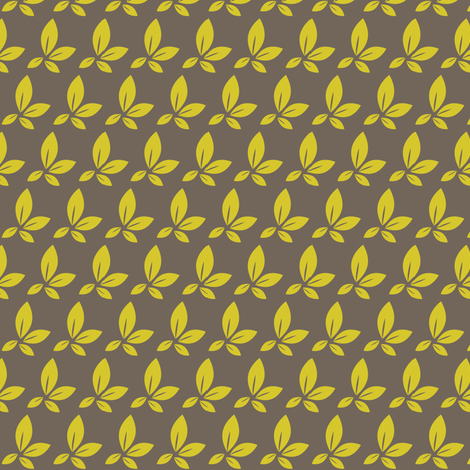 leaf fabric by sary on Spoonflower - custom fabric