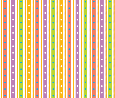 DaisySquare2-29-12Stripe fabric by sarah_nussbaumer on Spoonflower - custom fabric