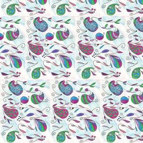 Paisley Swirl Jeweltones