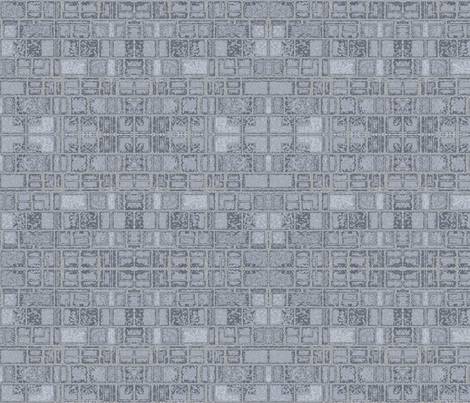 Limestone Walls © Gingezel™ 2012 fabric by gingezel on Spoonflower - custom fabric