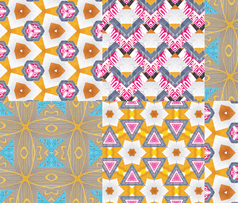 Urban Combination 3 - Large fabric by owlandchickadee on Spoonflower - custom fabric