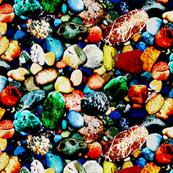 Technicolor Aquarium Rocks