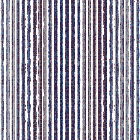 Twilight Stripes - Sea fabric by kristopherk on Spoonflower - custom fabric