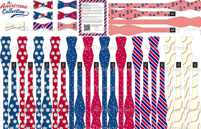 Americana Collection: 7 DIY Bow-Ties