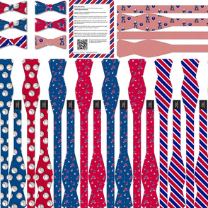Americana Collection: 7 DIY Bow-Ties