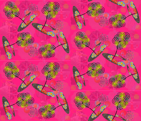 Imagine Beauty All Around fabric by gg33 on Spoonflower - custom fabric