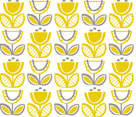 Urban Buttercup fabric by kate_legge on Spoonflower - custom fabric