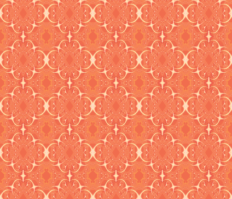 peach fabric by krs_expressions on Spoonflower - custom fabric