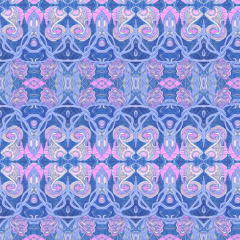Egyptian Revival Baby fabric by edsel2084 on Spoonflower - custom fabric