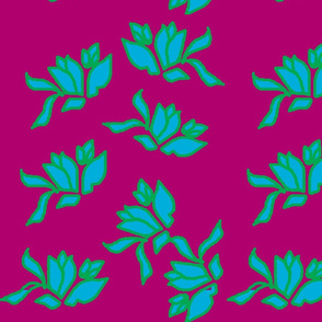 Genevieve's Window, Ocean on  Jamberry Pink
