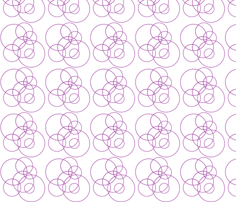 purple_circles fabric by megankaydesign on Spoonflower - custom fabric