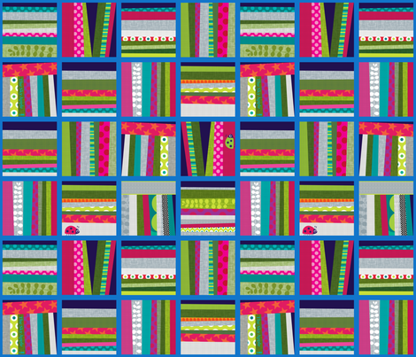Sky Apple fabric by spellstone on Spoonflower - custom fabric