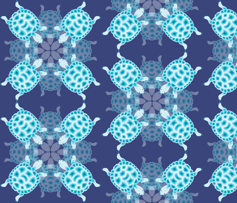 reflection fabric by preethiprabhuram on Spoonflower - custom fabric