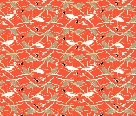 Beach Birds fabric by mag-o on Spoonflower - custom fabric