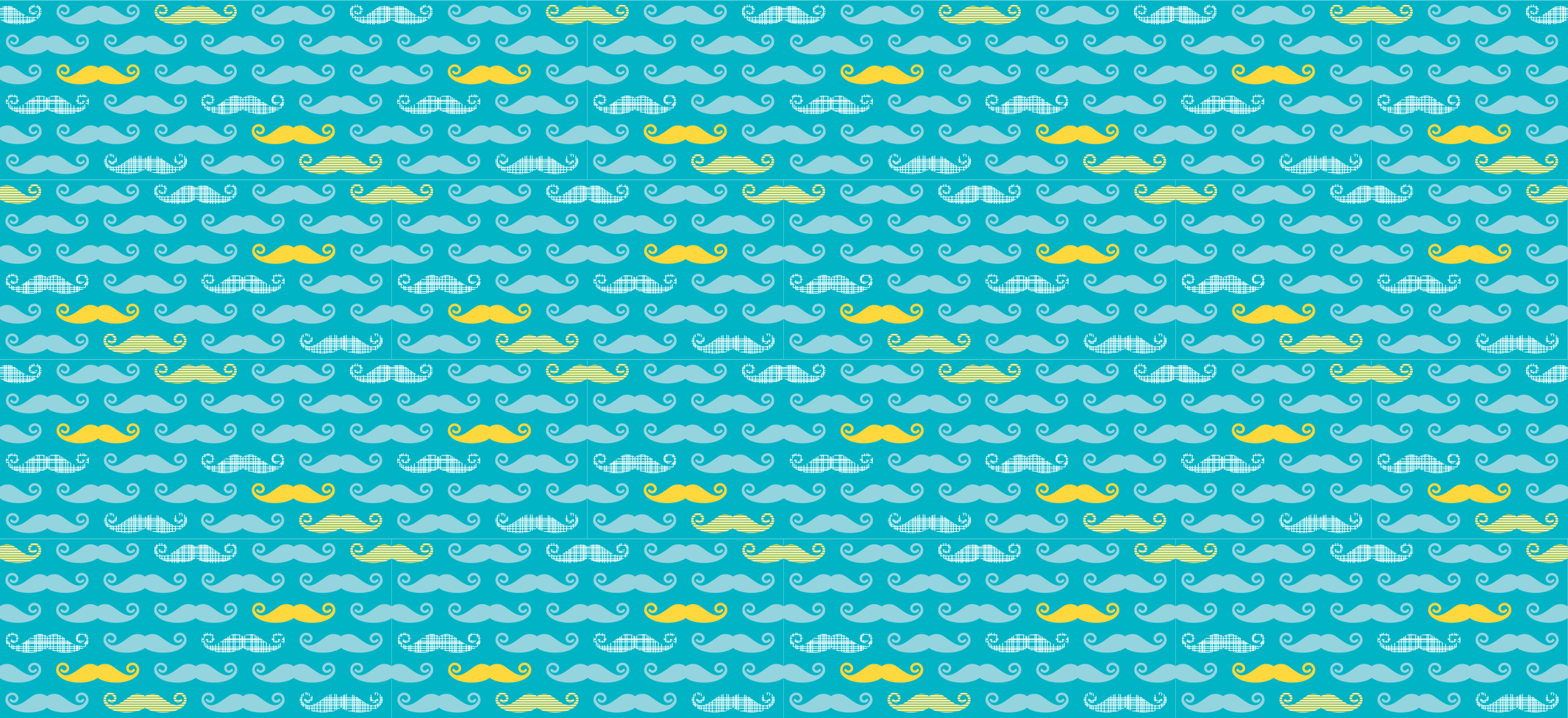 Back  gt  Wallpapers For  gt  Rainbow Mustache BackgroundBlue Mustache Wallpaper