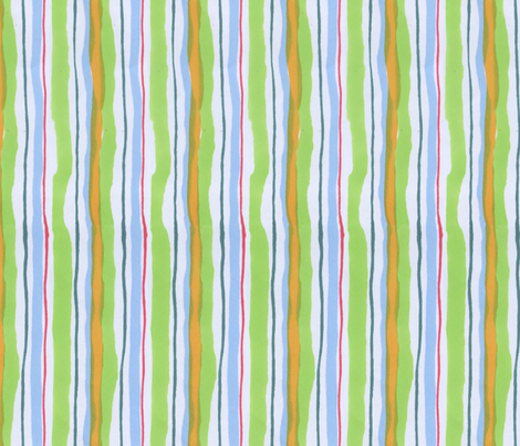 Marker Stripes fabric by whatsit on Spoonflower - custom fabric