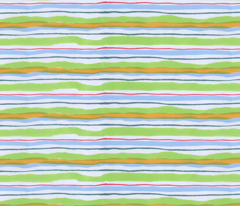 Marker Stripes 2 fabric by whatsit on Spoonflower - custom fabric