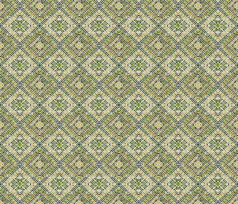 tile-weave__lt green fabric by koalalady on Spoonflower - custom fabric