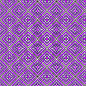 Tile weaving in purple, Small size.