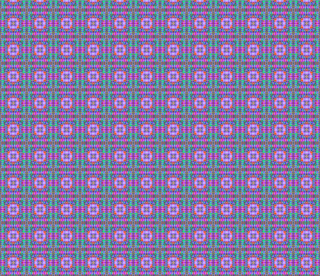 tile-weave_mauve_multi_small fabric by koalalady on Spoonflower - custom fabric