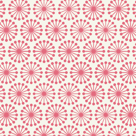 Cheer Wheel / Pink fabric by hoodiecrescent&stars on Spoonflower - custom fabric