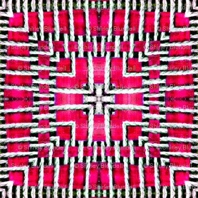 Tile-weave_bright_pink