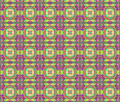 Tile weaving,multi-colored. fabric by koalalady on Spoonflower - custom fabric