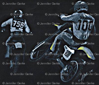 Motocross Racers Dirt Bikes