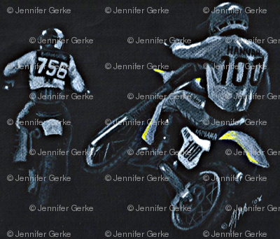 Motocross Racers Dirt Bikes