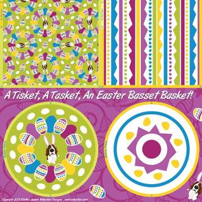 A Tisket, A Tasket, An Easter Basset Basket!